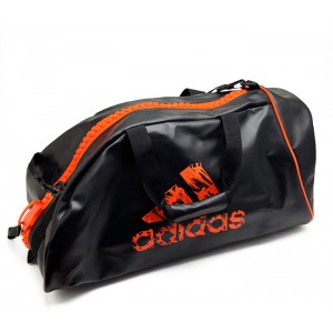 125T ADIDAS BLACK 2 IN 1 BAG, L(28X13X12)