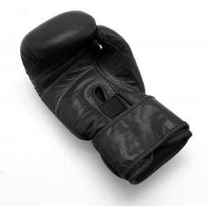 619P Economy Leather Boxing Glove - Black