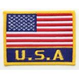 P1101B (US Flag w/USA) Patch