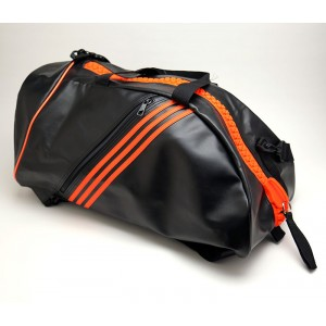 125S ADIDAS BLACK 2 IN 1 BAG, M(24X12X10)