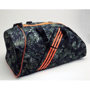 125Q ADIDAS COMBAT CAMO BAG, M (24x12x10)