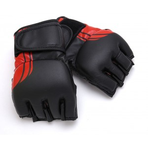 673K MMA Vinyl Glove Black & Red