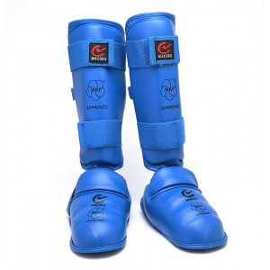 112 WKF Karate Shin Instep