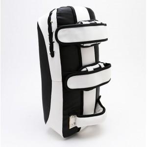 677K Curved Kick Pad (pair), Black & White