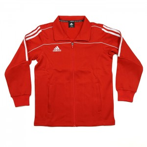 242JB Adidas Track Jacket (Red/White)