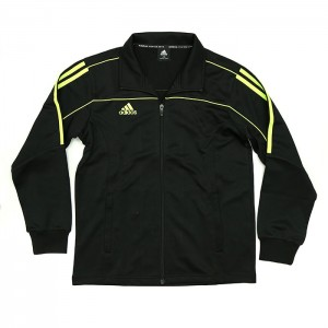 242JA Adidas Track Jacket (Black/Lime)