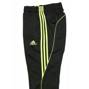 242PA Adidas Track Pants (Black/Lime)