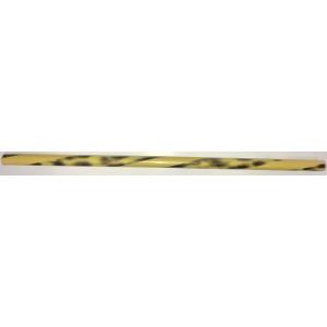 910A Plastic Escrima, Yellow & Black Spiral