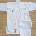 297 Elite Fighter Karate Gi, Ribbed