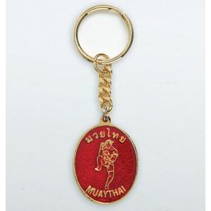 793 Muay Thai Key Chain, Red