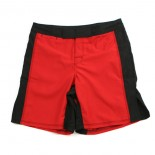 671RB MMA Shorts, Red/Black