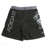 681C MMA Shorts, Silver Dragon (FINAL SALE/NO RETURNS)