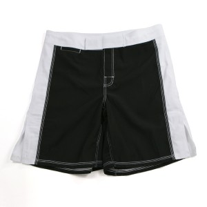 671BW MMA Shorts, Black/White