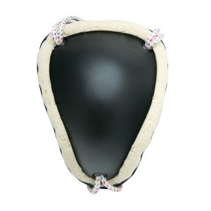 616 Leather Covered Groin Guard