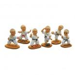 742, 6pc  figurine set.