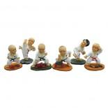 741, 6pc  figurine set.
