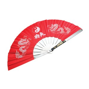 573 Steel Fan, Kung Fu / Red