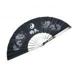 573B Steel Fan, Kung Fu / Blk