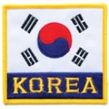 """P1102 (Korean Flag with """"Korea"""") Patch"""