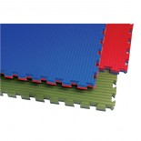 196XA Reversible Tatami Mat - Blue/Red