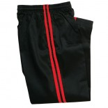 217B Pants, Black w/Red Stripe