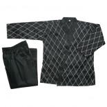 214B Hapkido - Black w/White Stitch