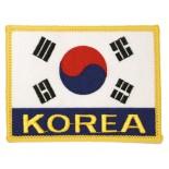 """P1102B (Korean Flag with """"Korea"""") Patch"""