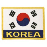 P1102B (Korea flag w/letters)